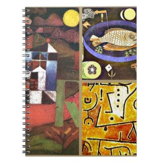Collage de Klee Cuadernos