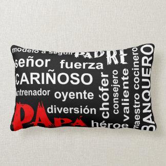 Collage de la almohada de las expresiones - papá