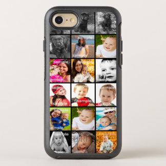 Collage de la foto único funda OtterBox symmetry para iPhone 8/7