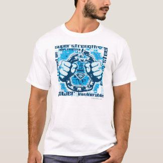 Collage de la frase del superhombre camiseta