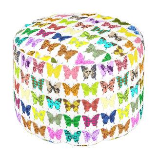 Collage de la mariposa puf