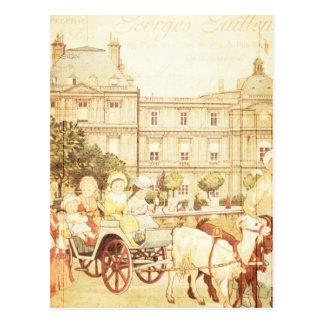 Collage del guión de los niños del Victorian de Postal