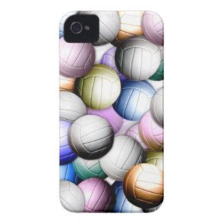Collage del voleibol iPhone 4 Case-Mate cárcasas
