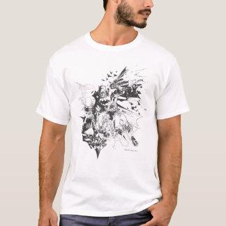 Collage loco de Batman Camiseta