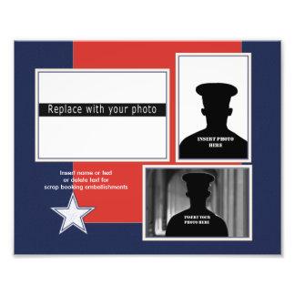 Collage patriótico de encargo de la foto