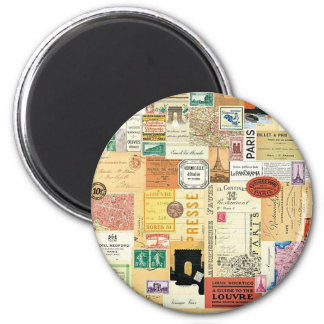 Collage Viajes - Imán