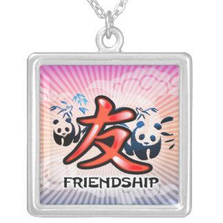 Collar chino del símbolo de la amistad