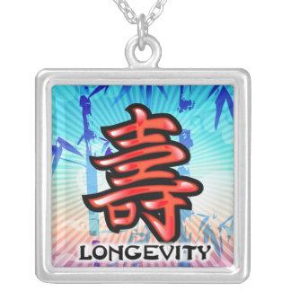 Collar chino del símbolo de la longevidad