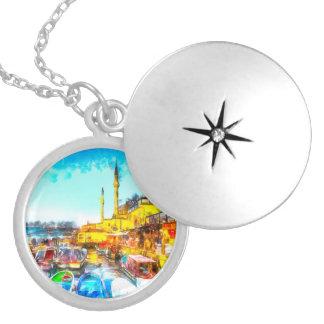 Collar Con Colgante Arte de Estambul Turquía
