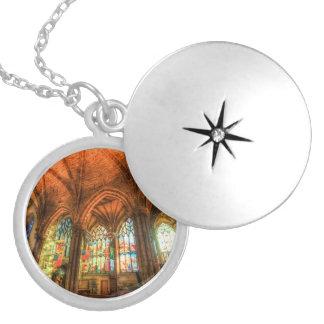 Collar Con Colgante Catedral Edimburgo Escocia de St Giles