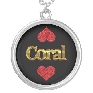 Collar coralino