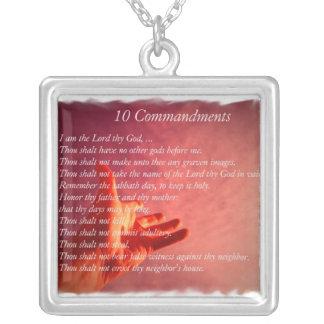 Collar de 10 Comandments