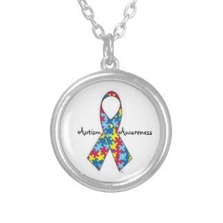 Collar de la cinta de la conciencia del autismo
