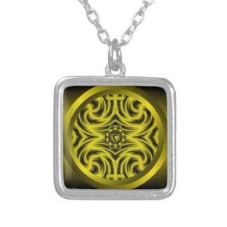 Collar de la mandala de Chakra del plexo solar