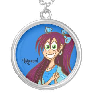 Collar de la plata esterlina de Rapunzel™ - azul