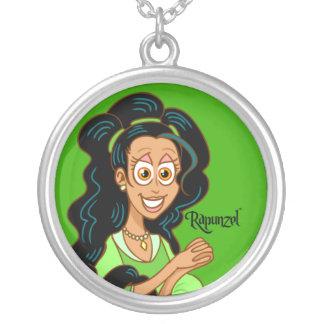 Collar de la plata esterlina de Rapunzel™ - verde