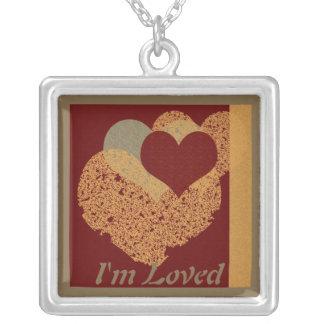 Collar de la tarjeta del día de San Valentín de