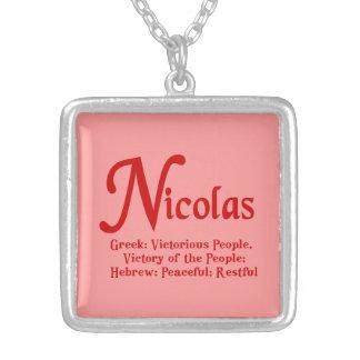 Collar de Nicolás
