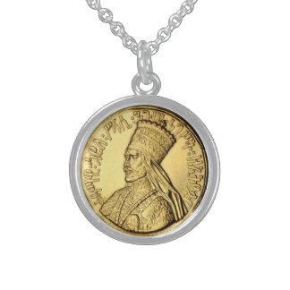 Collar de plata de Haile Selassie