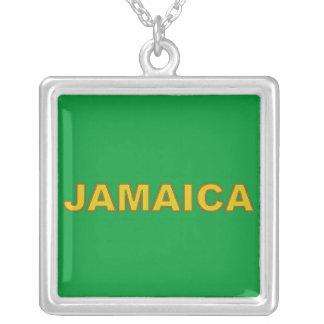 Collar de plata de Jamaica