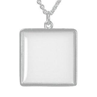 Collar De Plata De Ley Crea Medallón De Plata Esterlina Personalizable