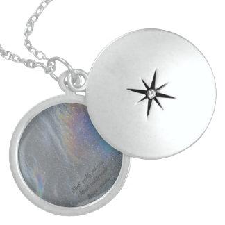 Collar De Plata De Ley Diseño original de la prisma de Djaneraimages