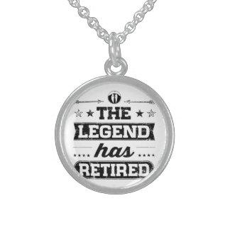 Collar De Plata De Ley La leyenda se ha retirado