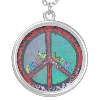 Collar del amor de la paz