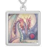 Collar del arte del dragón de la fantasía