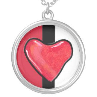 Collar del corazón 1 del caramelo