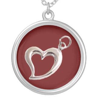 Collar del corazón del el día de San Valentín