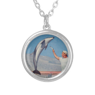 Collar del delfín de Marineland del vintage