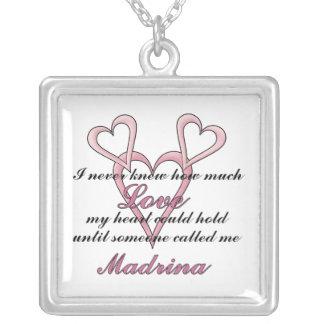 Collar del día de madre de Madrina (nunca sabía)