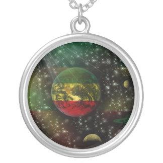 Collar del mundo de Rastafari