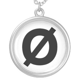 Collar del símbolo de Neutrois