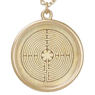 Collar Dorado Chartres Labyrinth estilo antiguo 1 + sus ideas