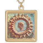 Collar Dorado Emperor's Dream Gold Plated Necklace