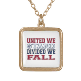 Collar Dorado La unión hace la fuerza camisetas y regalo