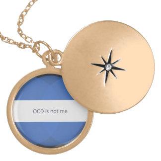 Collar Dorado OCD no es yo