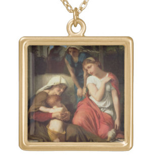 Collar Dorado Ruth y Naomi, 1859 (aceite en lona)
