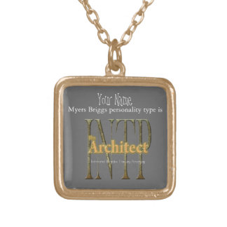 Collar Dorado theArchitect de INTP