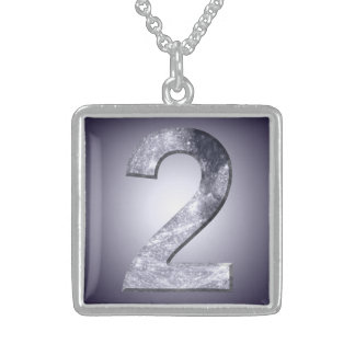 Collar lunar del diseño del símbolo dos afortunado