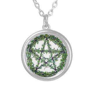 collar pagano wiccan del Pentagram
