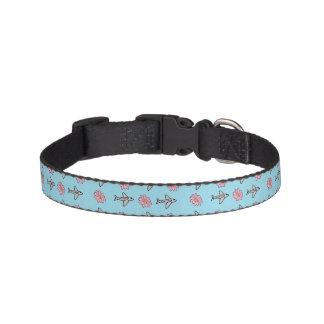 Collar Para Mascotas Aviones y cuello de las flores
