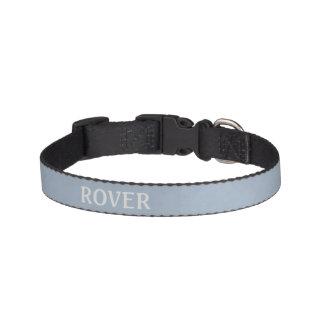 Collar Para Mascotas * Azul de acero ligero abigarrado