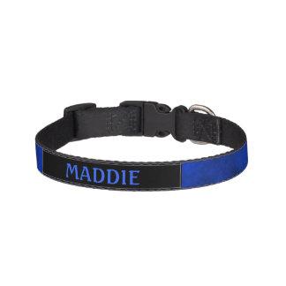 Collar Para Mascotas Azul del zafiro de Smokey