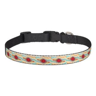 Collar Para Mascotas Cuello de perro casero caliente de las rayas