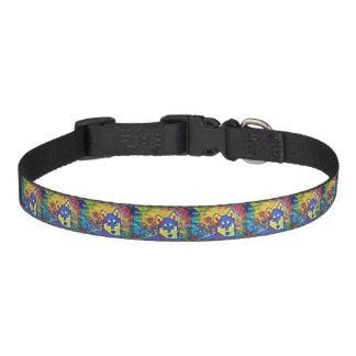 Collar Para Mascotas Cuello de perro casero colorido fornido