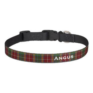 Collar Para Mascotas Cuello de perro de encargo clásico de la tela