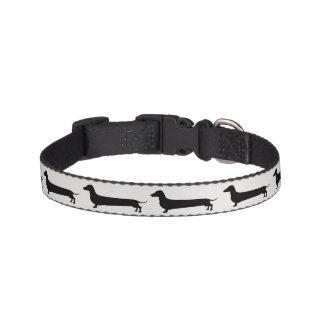 Collar Para Mascotas Cuello de perro de la silueta del Dachshund